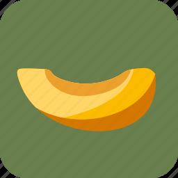 food, fruit, melon, piece, slice icon