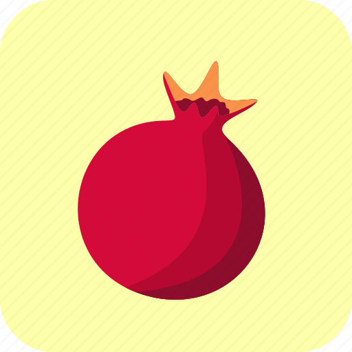 food, fruit, pomegranate icon
