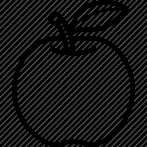 Food, fruit, apple, fruits icon
