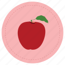 apple, fruit, manzana, red