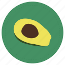 aguacate, avocado, fruit, green icon