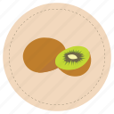 fruit, green, kiwi, tropical icon