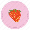 fresa, fruit, frutilla, strawberry icon