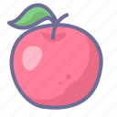 apple, fruit, sweet icon