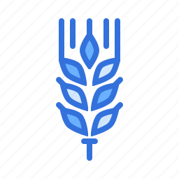 crop, food, gluten, grain, millet, wheat, whole icon