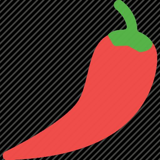 chili, fruit, vegetables icon