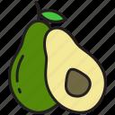 avocado, 1