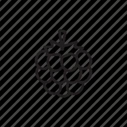 berry, blackberry, bramble, dewberry, raspberry icon