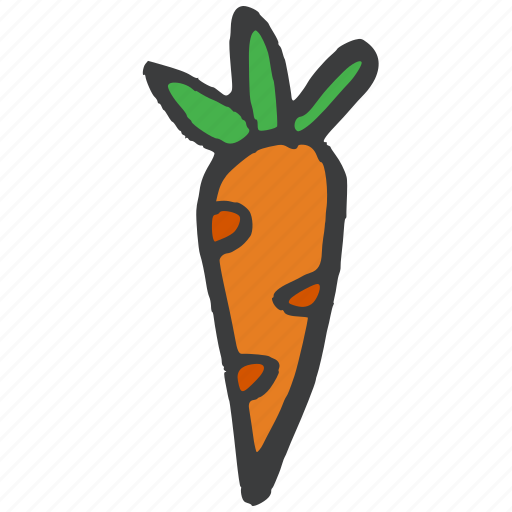 carrot, eat, food, fruit, healthy, vegetable icon