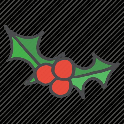 berries, berry, cherries, christmas, fruit, healthy, vegetable icon