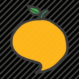 food, fruit, healthy, juicy, mango, pulpy, vitamins icon