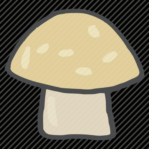 food, healthy, mushroom, tropical, vegetable, vitamin d icon