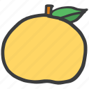 eat, food, fresh, fruit, green, peach icon