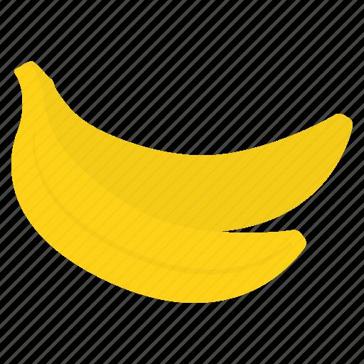 banana, eat, food, fruit, healthy, vegan icon