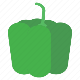 bell pepper, capsicum, eat, food, pepper, vegetable icon