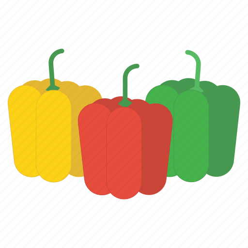 bell pepper, eat, food, fruit, healthy, peppers, vegetable icon
