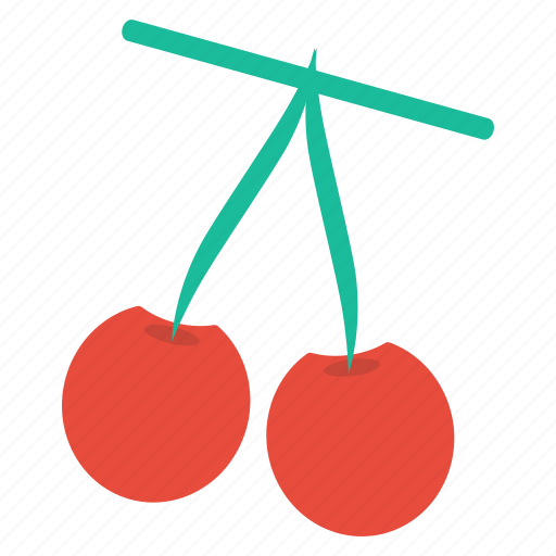 cherries, eat, food, fruit, healthy, plant icon