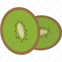 chinese gooseberry, eat, food, fruit, healthy, kiwi, vitamin icon