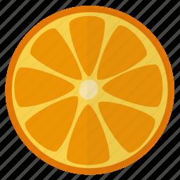 citrus, food, fruit, healthy, orange, tropical, vitamin c icon
