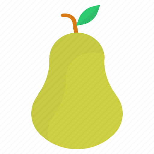 eat, food, fruit, green, healthy, pear icon