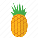 eat, food, fruit, healthy, pineapple, tropical, vitamin c icon