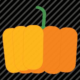 eat, food, fruit, halloween, healthy, pumpkin, vegetable icon