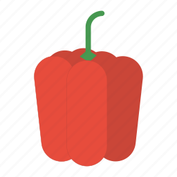 bell pepper, eat, food, healthy, pepper, vegetable icon