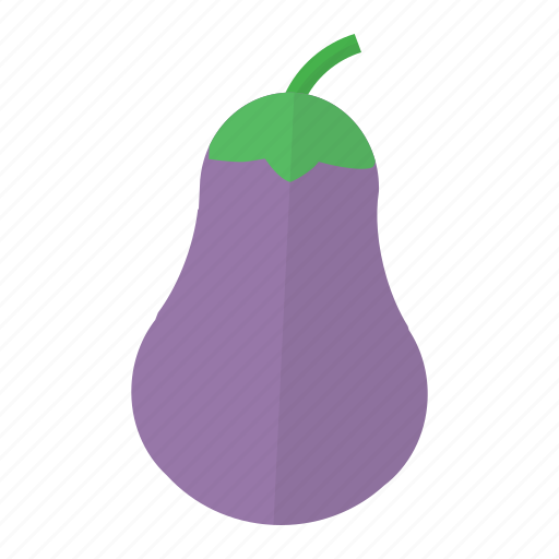brinjal, eggplant, food, groceries, healthy, vegetable, veggie icon