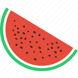 eat, fruit, juicy, melon, vegetable, watermelon icon