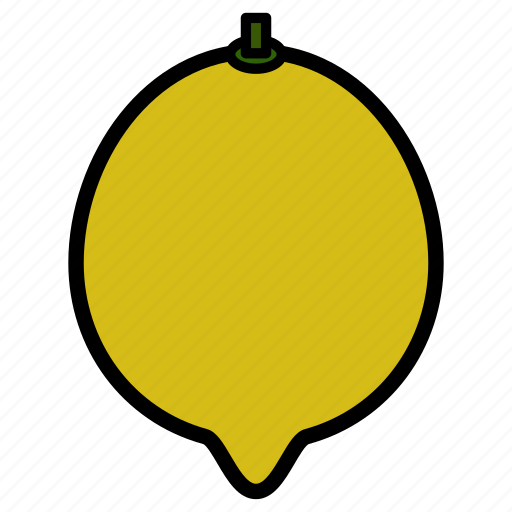 diet, food, fruit, healthy food, lemon, sweet lemon, vegetarian icon