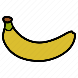 banana, diet, food, fruit, healthy, healthy food, sweet icon