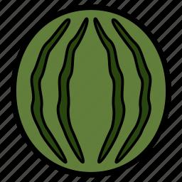 diet, food, fruit, healthy, healthy food, vegetarian, watermelon icon