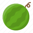 food, fresh, fruit, healthy, vitamin, watermelon icon