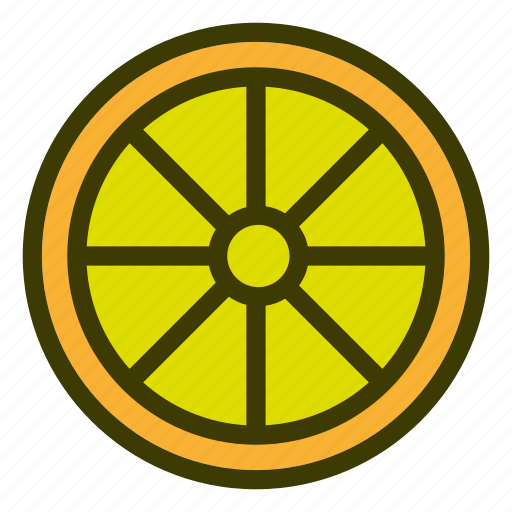 food, fruits, lemon, natural, vegetables icon
