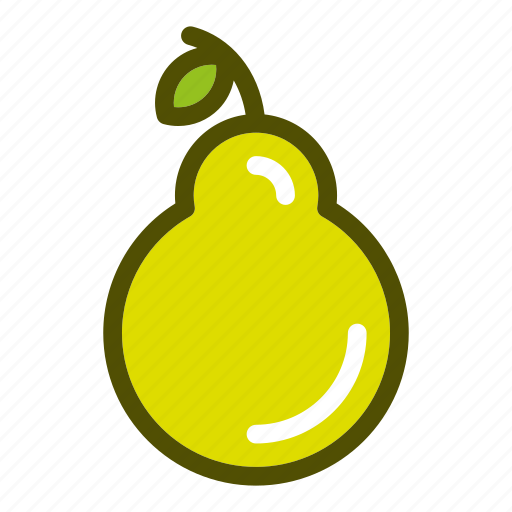 food, fruits, natural, pear, vegetables icon