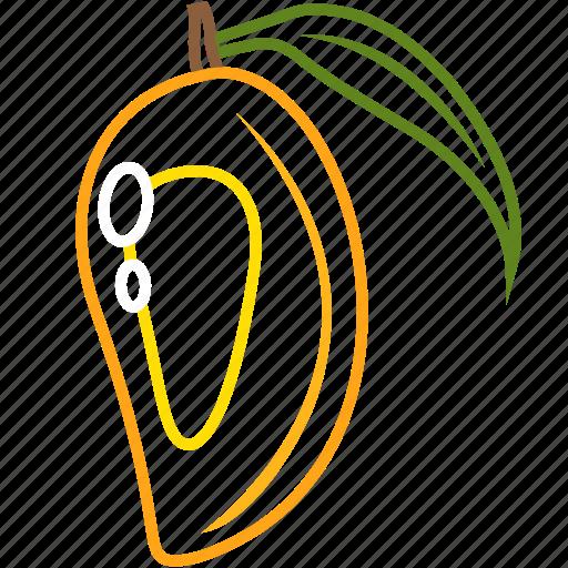food, fruits, fruits icon, healthy food, mango, mango joice icon