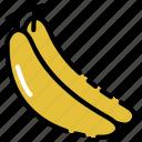 banana, fruit, vegetable, vitamin icon