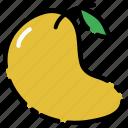 fruit, mango, vegetable, vitamin icon