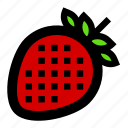 berries, berry, delicious, food, ingredient, strawberry, sweet icon