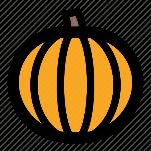 autumn, decoration, food, halloween, pumpkin, vegetable icon
