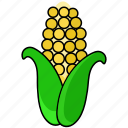corn, food, pop icon