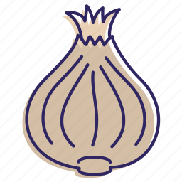 healthy food, onion, vegetable, vegetables icon