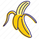 banana, bananas, fruit, healthy food, sweet