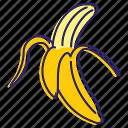 banana, bananas, fruit, healthy food, sweet icon