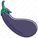 aubergine, eggplant, healthy food, vegetable, vegetables icon