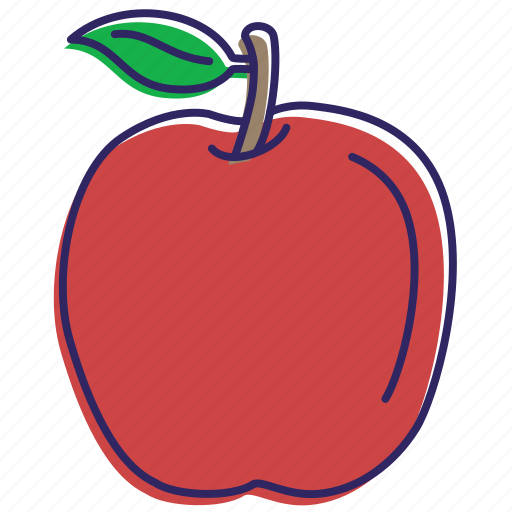 apple, apples, fruits, healthy food, idared, red apple icon