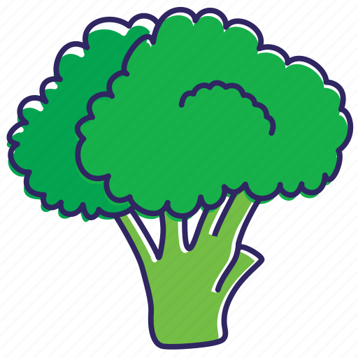 broccoli, food, green flower, healthy food, nature, vegetable, vegetables icon