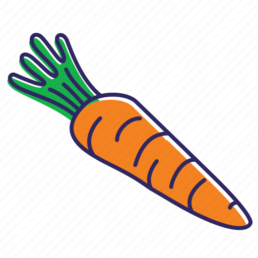 carrot, food, healthy food, kitchen, organic, vegetable, vegetables icon
