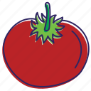 healthy food, red vegetable, tomato, tomatoes, vegetable, vegetables icon