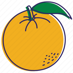 fruit, healthy food, juice, orange, orangeade, oranges icon